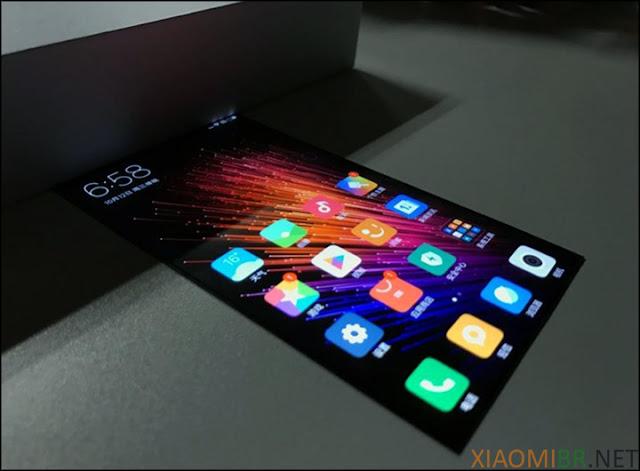 Xiaomi esta realizando experimentos com telas flexíveis