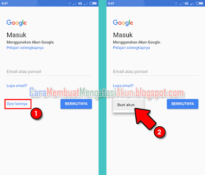 cara membuat akun google xiaomi miui 9