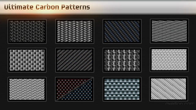 Ultimate Carbon Pattern Pack