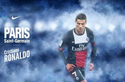 PSG Lakukan Kontak Dengan Pihak Christiano Ronaldo