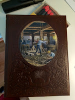 The Miners leather bound Time-Live Old West Seires volume