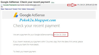 Dapat Duit Dari Google Adsense, Google Adsense,