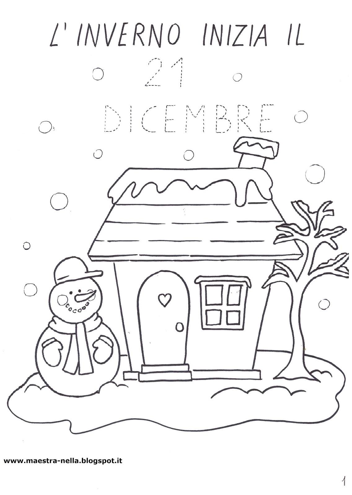 Maestra nella il libro dell 39 inverno for Maestra mary inverno addobbi