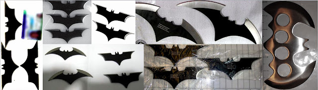 Discovered batarangs