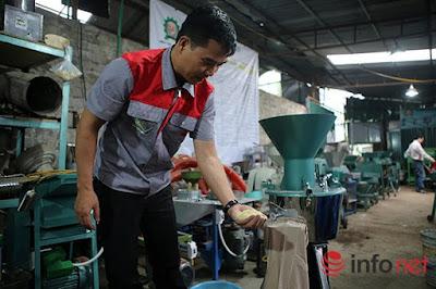 Máy trộn nguyên liệu chăn nuôi 5,5Kw