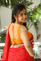 Lasya Cute Beauty in Saree Backless Choli at her Interview ~  Exclusive 067.JPG