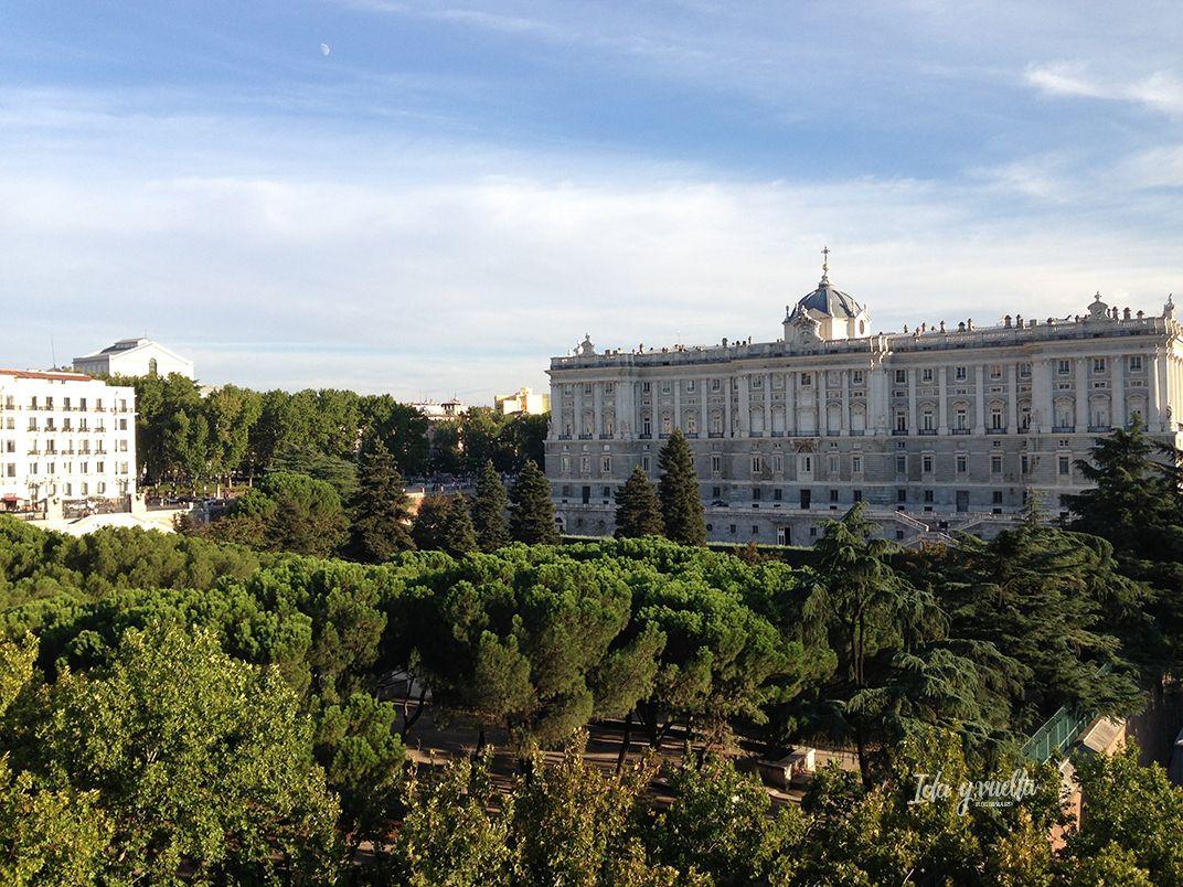 Hoteles Madrid con niños Jardines de Sabatini