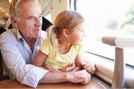 grandpa and a granddaughter