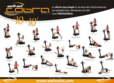 ejercicios maquinas vibratorias para adelgazar