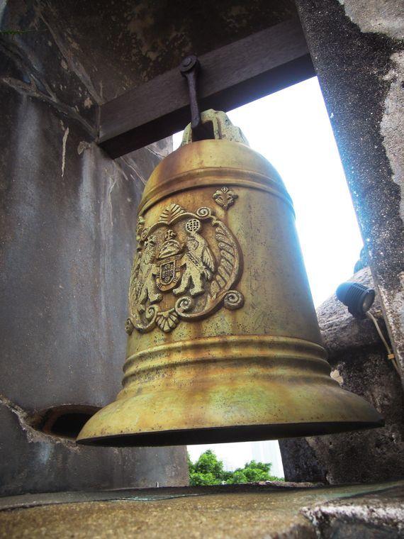 Alarm bell at Fortaleza do Monte