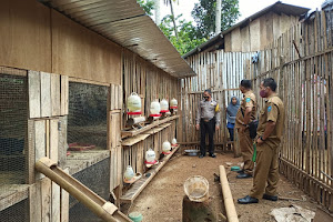 Monitoring dan Evaluasi Bantuan Ternak Kegiatan Peningkatan Ekonomi Kerakyatan Desa Santua