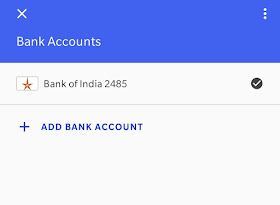 how to add bank account