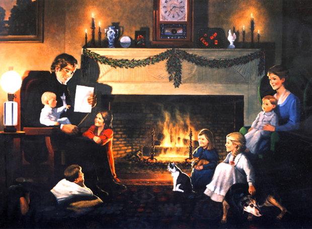Χριστουγεννιάτικα έθιμα: Το χριστόξυλο