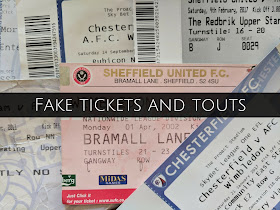 fake tickets touts