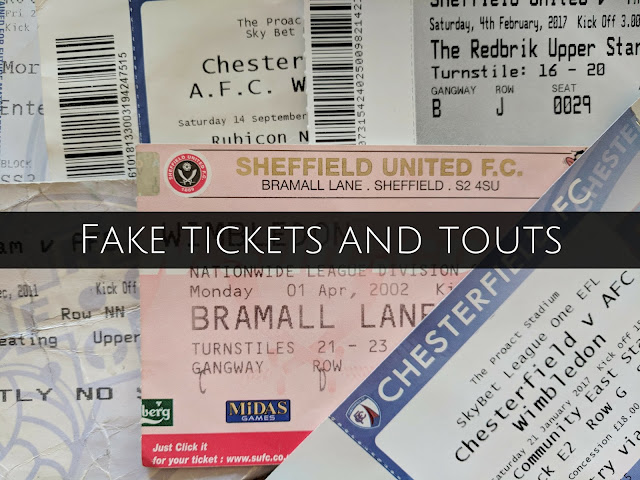 fake tickets touts