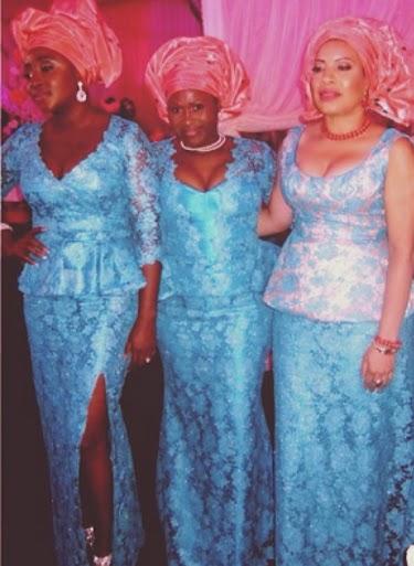 Nollywood Celebrities In Aso Ebi Paul Okoye Amp Anita S