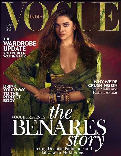 Glamourous Deepika Padukone Vogue November issue 2016