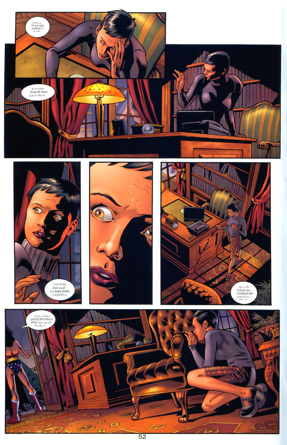 Read online Wonder Woman: The Hiketeia comic -  Issue # Full - 61