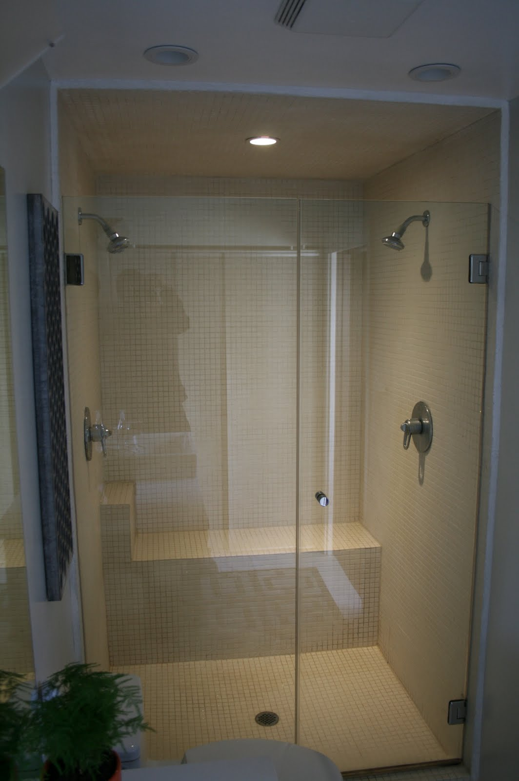 simply brookes bathroom love double showerheads