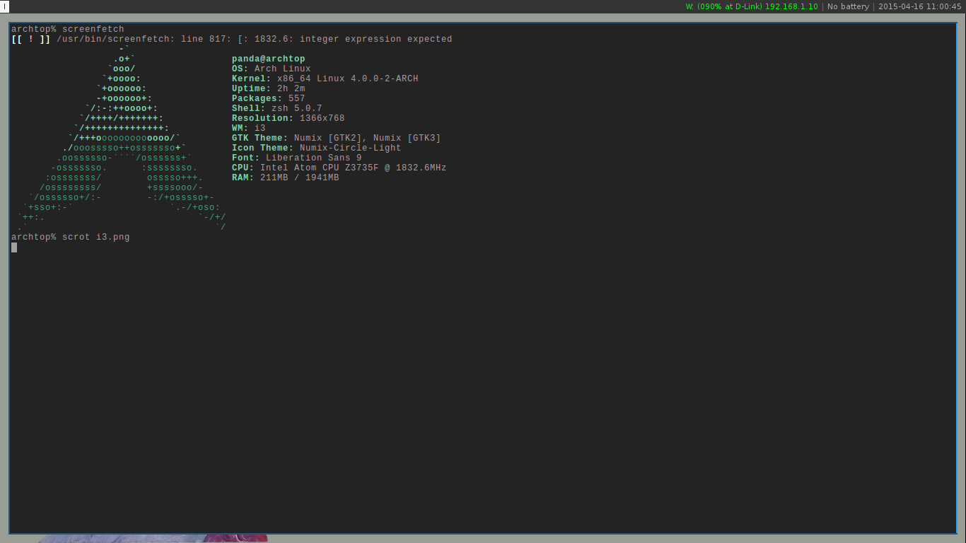 Ifran's Blog: Installing Arch Linux on Asus X205TA