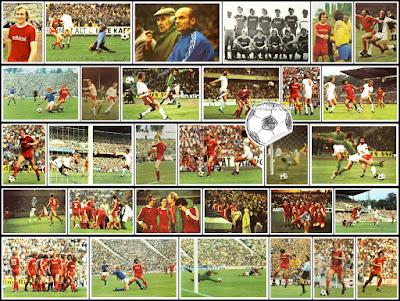 Bergmann sammelbilder Bayern Munchen 1975/76