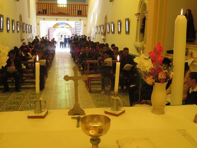 21.04.2017 Das Colegio von Esmoraca feiert 33 Jahre, eingeladen waren die Schüler und Lehrer von San Antonio de Esmoruco.
