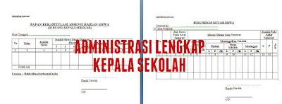 Administrasi Kepala Sekolah Lengkap Format Word dari Administrasi Pengajaran, Kepegawaian, Keuangan, Hingga Inventaris Barang
