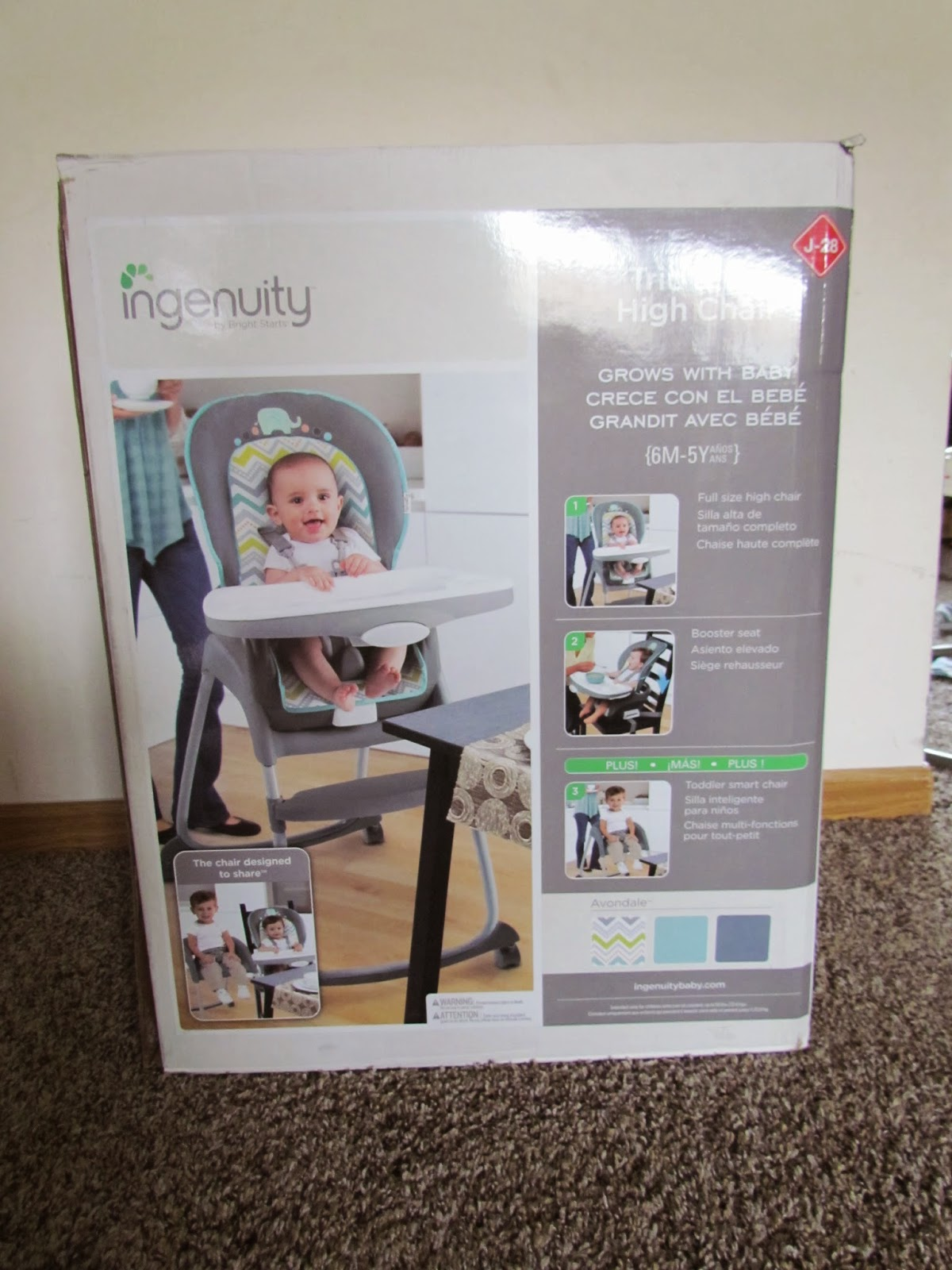 ingenuity high chair canada reviews folding chairs rental mommy 39s favorite things trio 3 in 1
