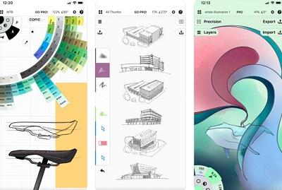 aplikasi desain keren di ios
