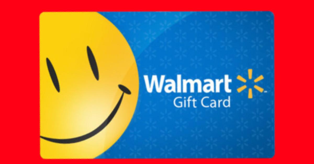 Win A Free 200 Walmart Gift Card