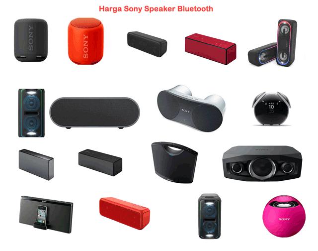 Harga Sony Speaker Bluetooth