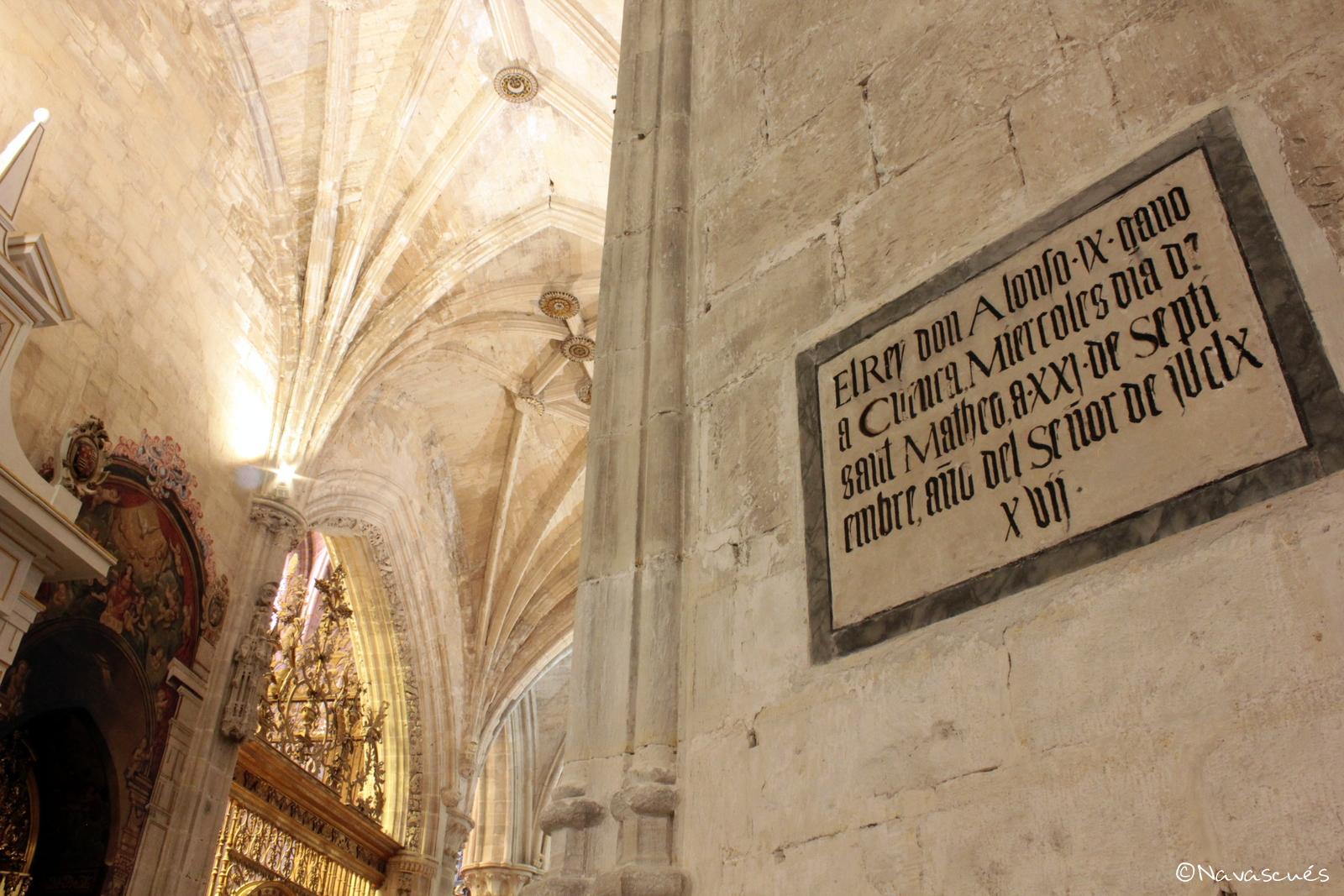 Efeméride de la conquista de Cuenca por Alfonso IX