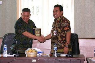 Wakil Bupati Blora H Arief Rohman menerima kunjungan kerja Komisi C DPRD Pemalang