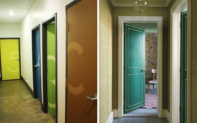 Marzua c mo decorar pasillos con las puertas - Puertas originales interiores ...