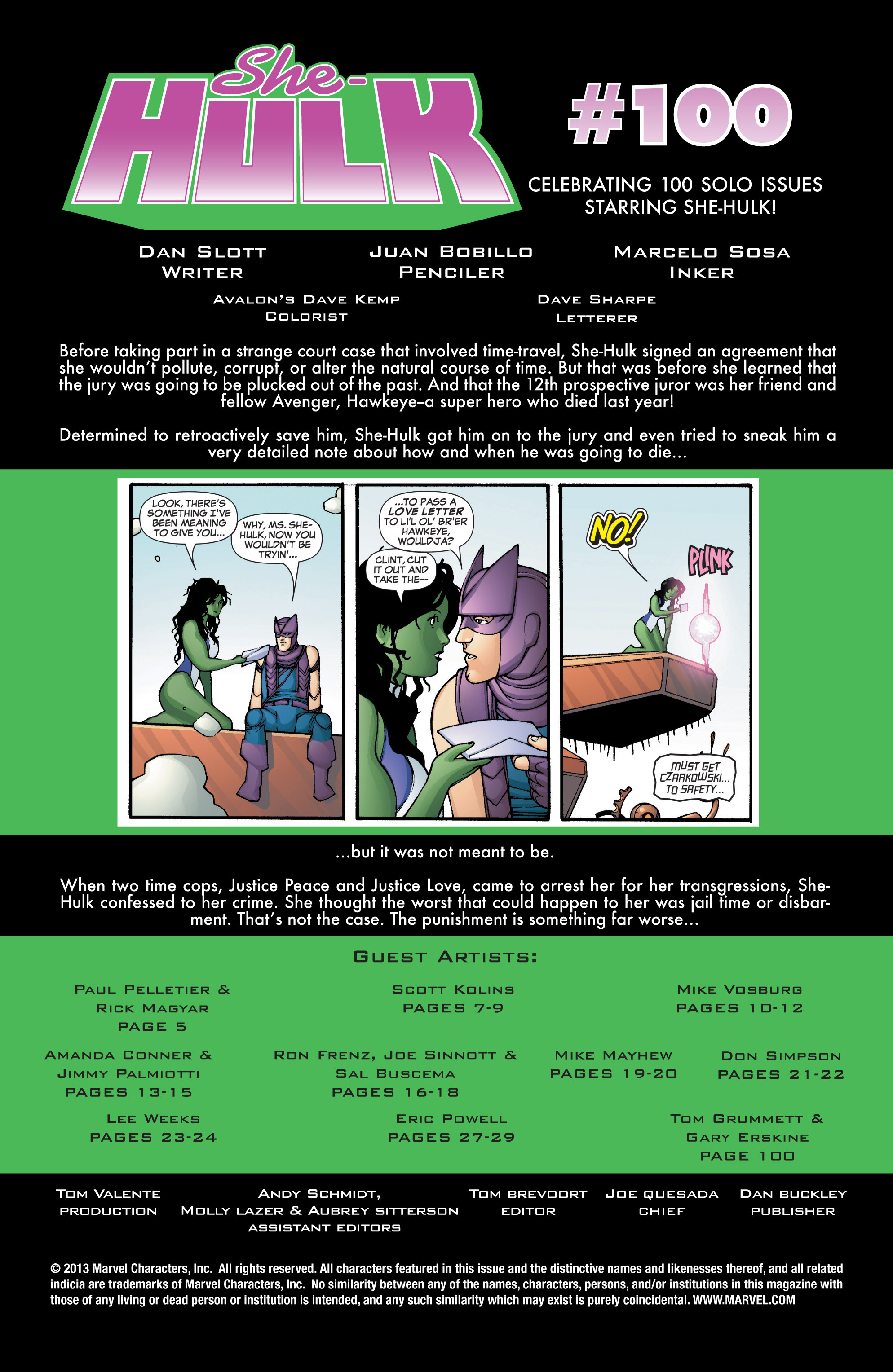 Read online She-Hulk (2005) comic -  Issue #3 - 2