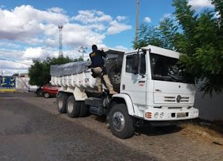 Minério extraído de forma ilegal é apreendido na região do Seridó