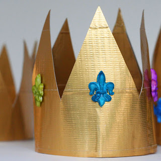 Father S Day Quot King For A Day Quot Duct Tape Crown