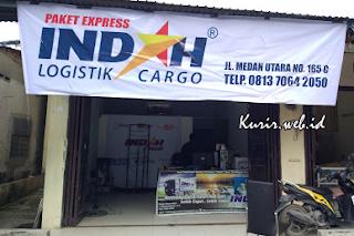 Alamat agen Indah Logistik Cargo di Medan.