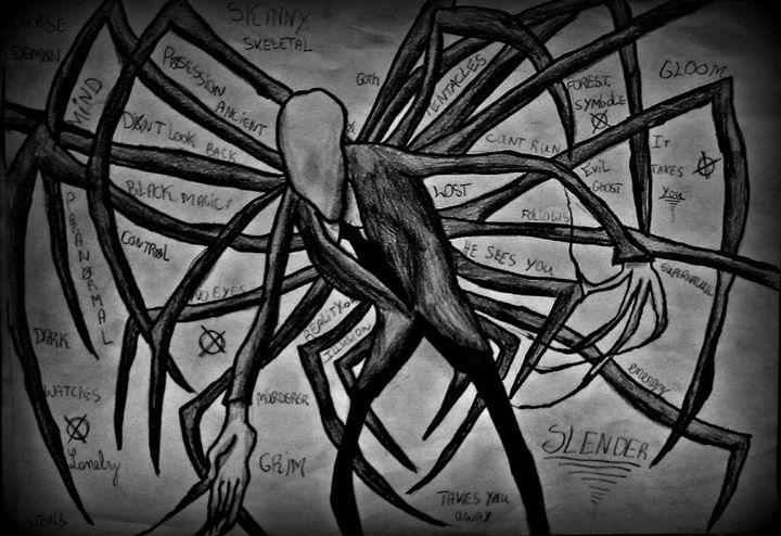 Slender man là gì? Truyền thuyết về slender man