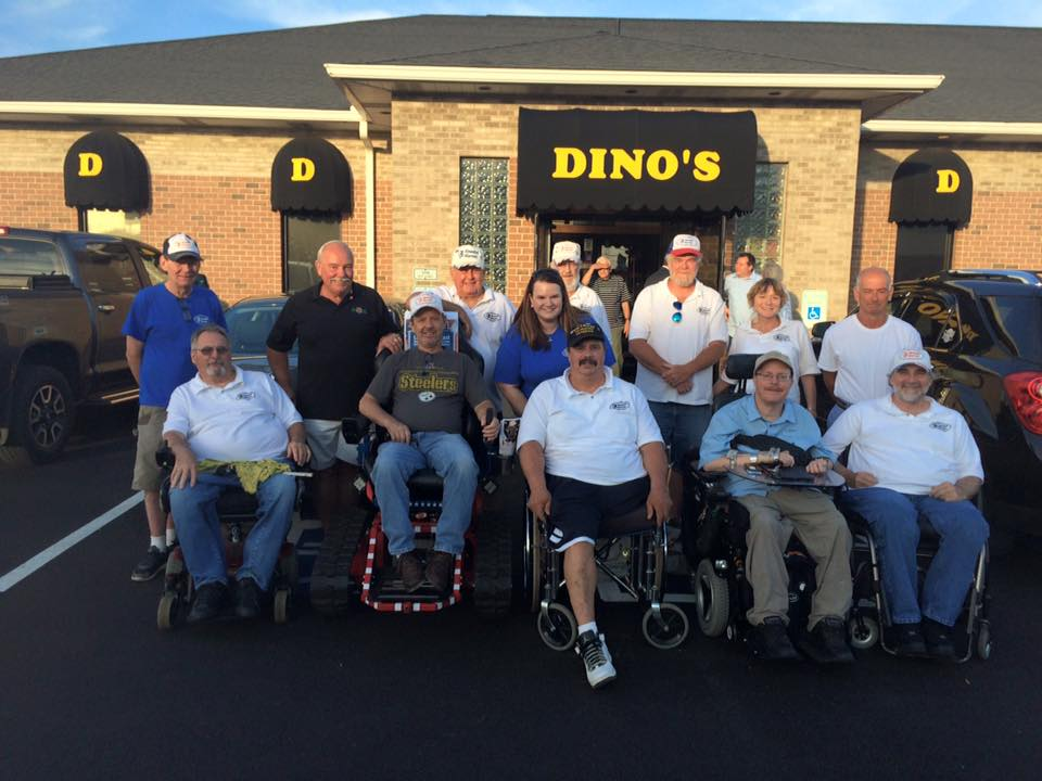 Accessible Hunter: Rotary District 7300 Donation, Trac-Fab