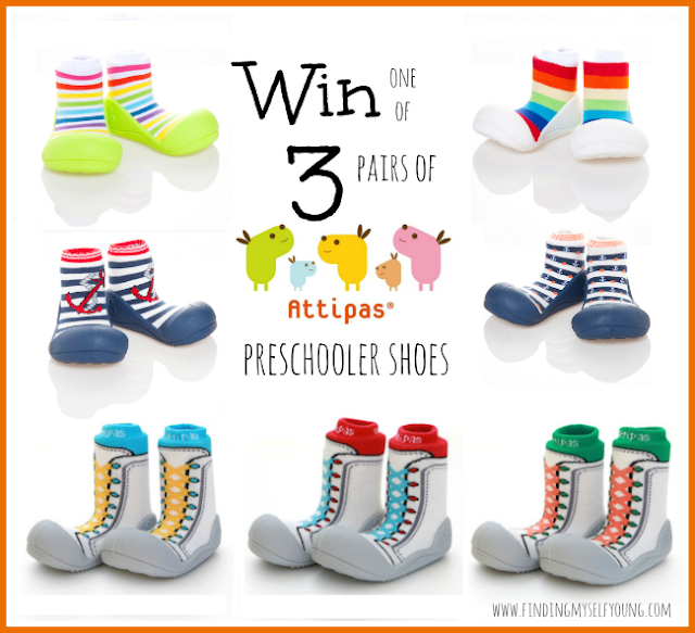 Finding Myself Young Attipas Australia Preschool shoes giveaway
