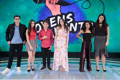 Concorrentes do Jovens Talentos (Crédito: Rodrigo Belentani/SBT)