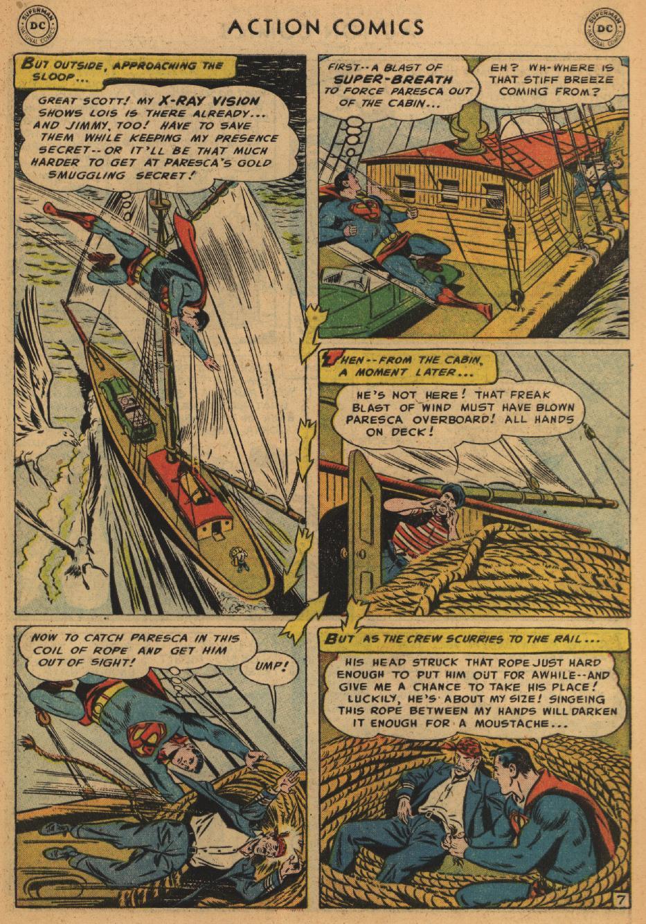 Action Comics (1938) 203 Page 8