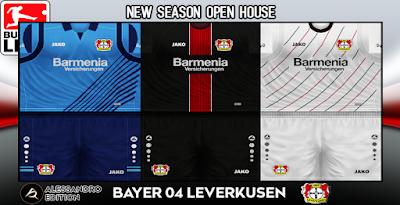 PES 6 Kits Bayer Leverkusen Season 2018/2019 by Alessandro