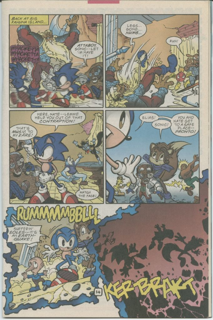 Read online Sonic The Hedgehog comic -  Issue #70 - 17