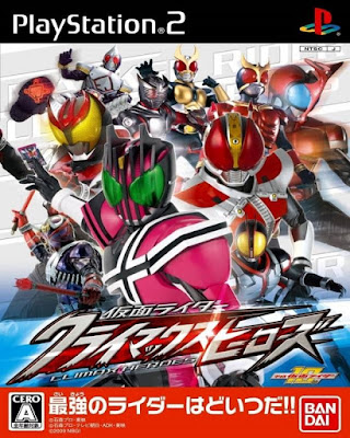Kamen Rider Climax Heroes PS2 GAME ISO