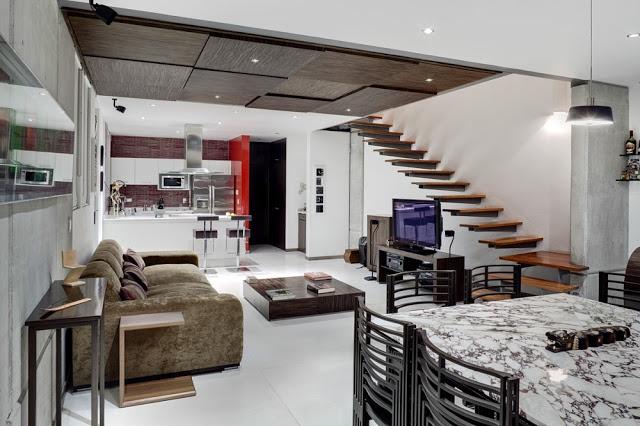 Dise os de sala comedor y cocina decoraci n de for Sala cocina y comedor en un solo ambiente pequeno