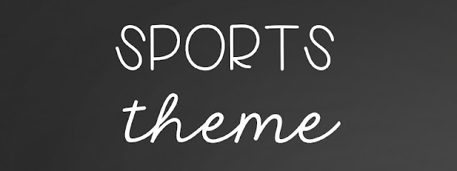 Consider a sports theme for your classroom decorations