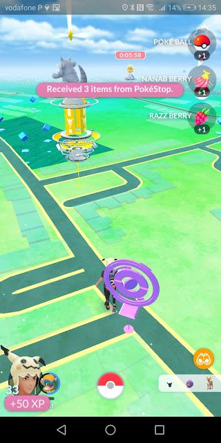 How do I farm items in Pokémon GO