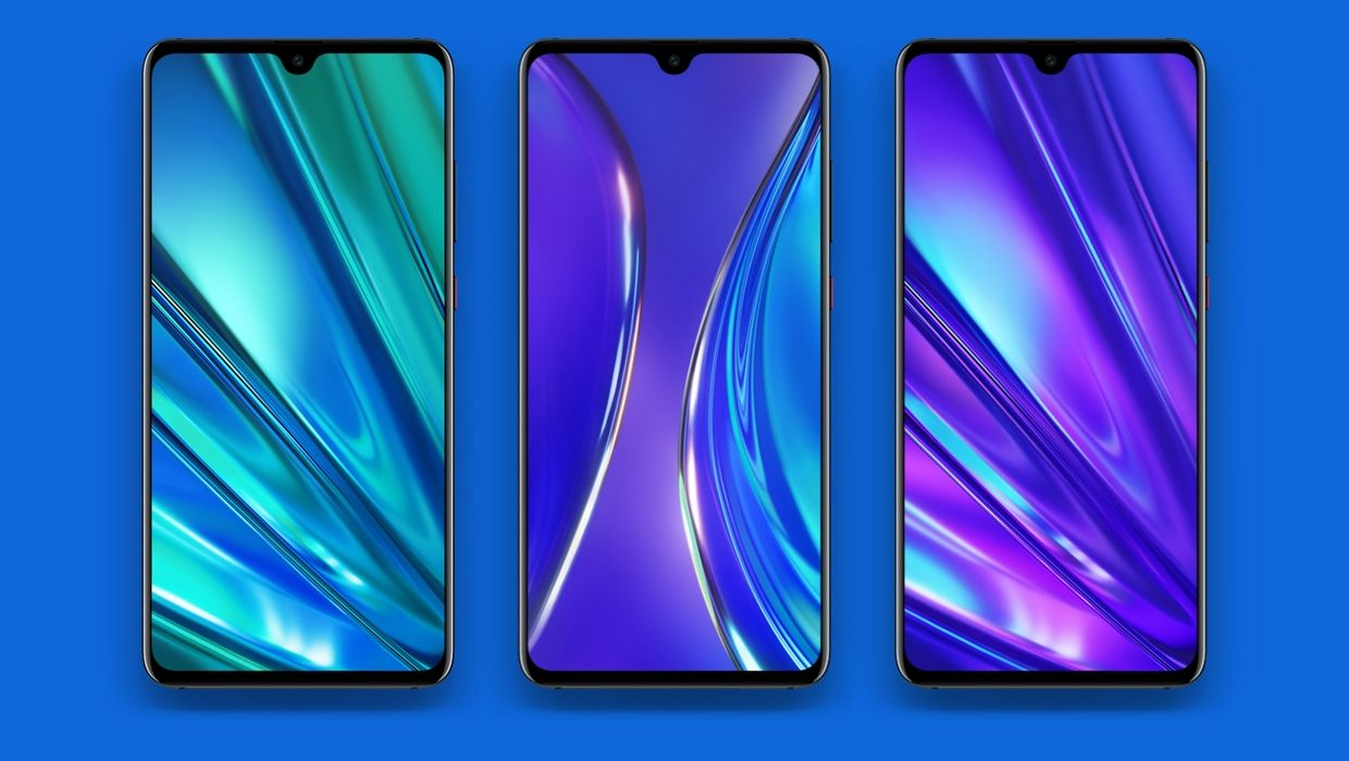Realme XT Stock Wallpapers Collection